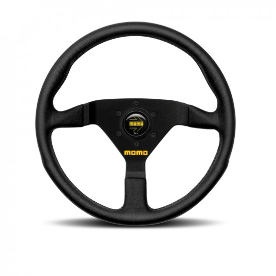 MOMO MOD.78 Steering Wheel - Black Leather