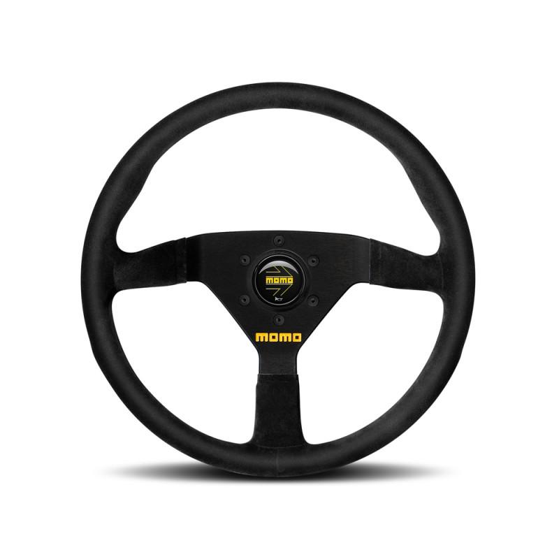 MOMO MOD.78 Steering Wheel - Black Suede