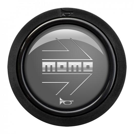 MOMO Standard Horn Button 2 Contact - Arrow Gloss Anthracite