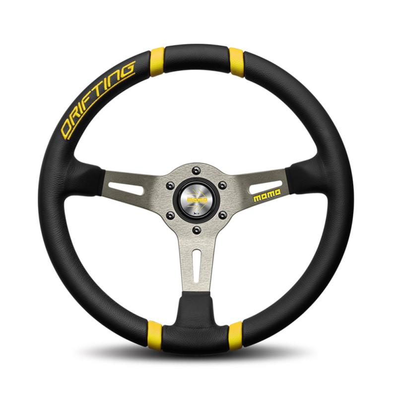 MOMO Drifting Steering wheel - Yellow