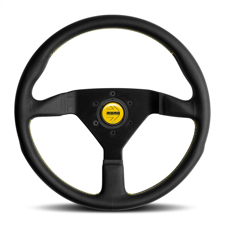 MOMO Montecarlo steering wheel - Yellow