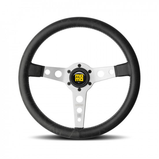 MOMO Prototipo Heritage Silver Spoke steering wheel