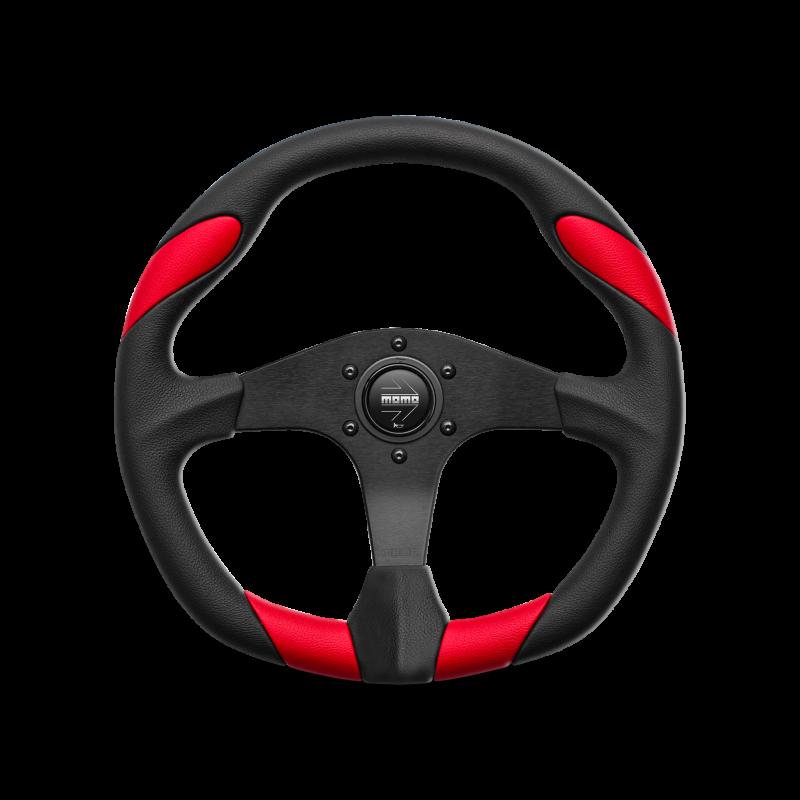 MOMO Quark steering wheel - Red